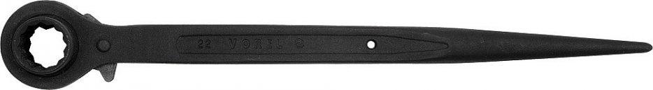 Klíč ráčnový 14 x 17 mm průchozí oboustranný