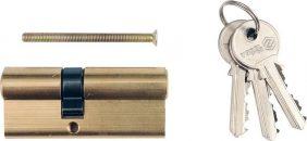 Vložka zámku 67 x 31 x 36 mm mosaz 3 klíče