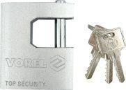 Zámek visací 75 mm čepový 3 klíče