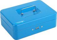 Pokladna příruční 250x180x90mm modrá