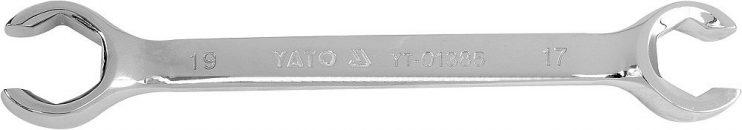 Klíč prstencový polootevřený 17x19 mm