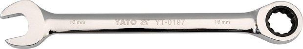 Klíč očkoplochý ráčnový 13 mm