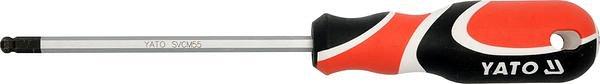 Šroubovák imbus 4 mm kulový magnetický