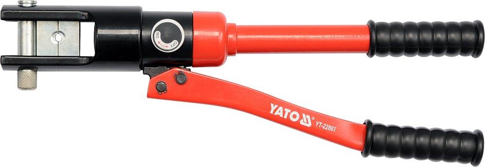 Kleště lisovací na koncovky kabelů Al 16-185mm2