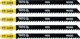 List pilový do přímočaré pily 115 mm na dřevo TPI8 5 ks