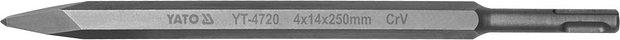 Sekáč SDS+ špičatý 4 x 14 x 250 mm CrV