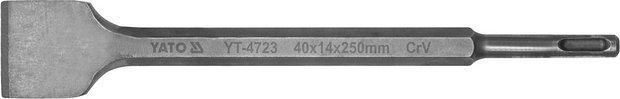 Sekáč SDS+ plochý 40 x 14 x 250 mm CrV