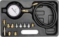 Souprava k měření kompresního tlaku oleje