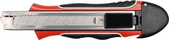 Nůž řezací 18 mm Al + 3 ks ostří