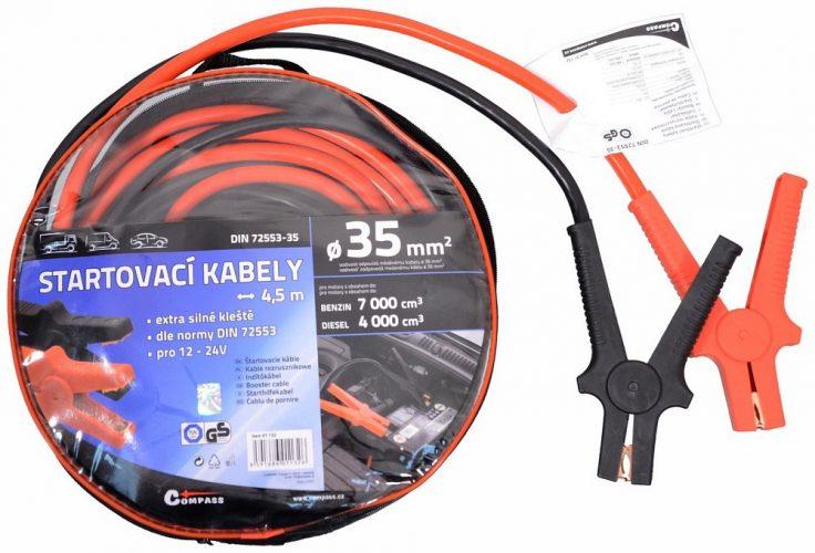 Startovací kabely 35 délka 4