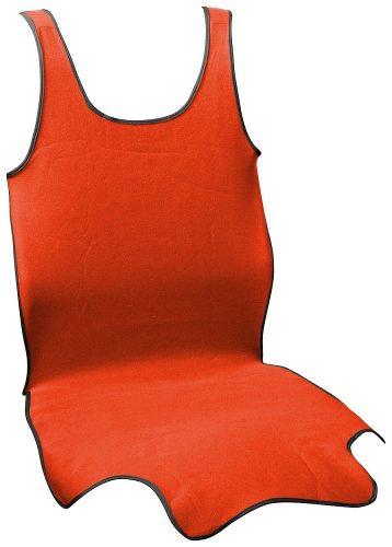 Potah sedadla TRIKO SOFT přední 1ks červený
