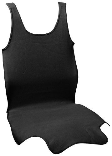 Potah sedadla TRIKO SOFT přední 1ks černý