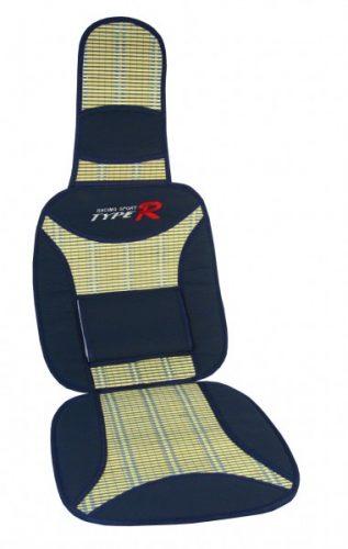 Poťah na sedadlo bambus type R modrý