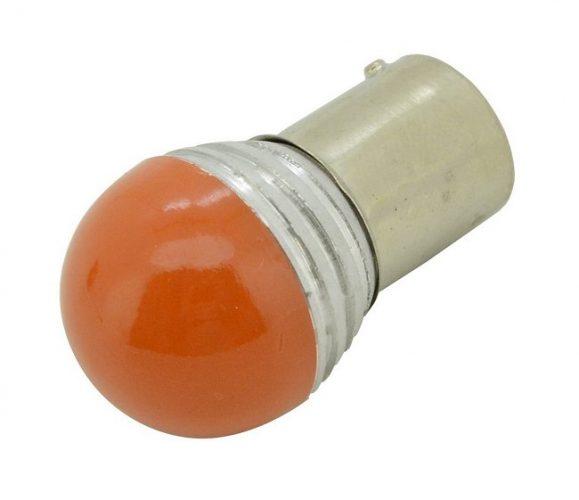 Žiarovka 9 SMD LED 1chip 12V BaU15s CAN-BUS ready oranžová 1ks