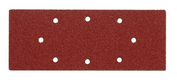Brusný papír 240 x 93 mm P150 s otvory 5 ks