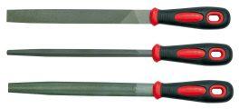 Sada pilníků zámečnických 200 mm 3 ks VOREL