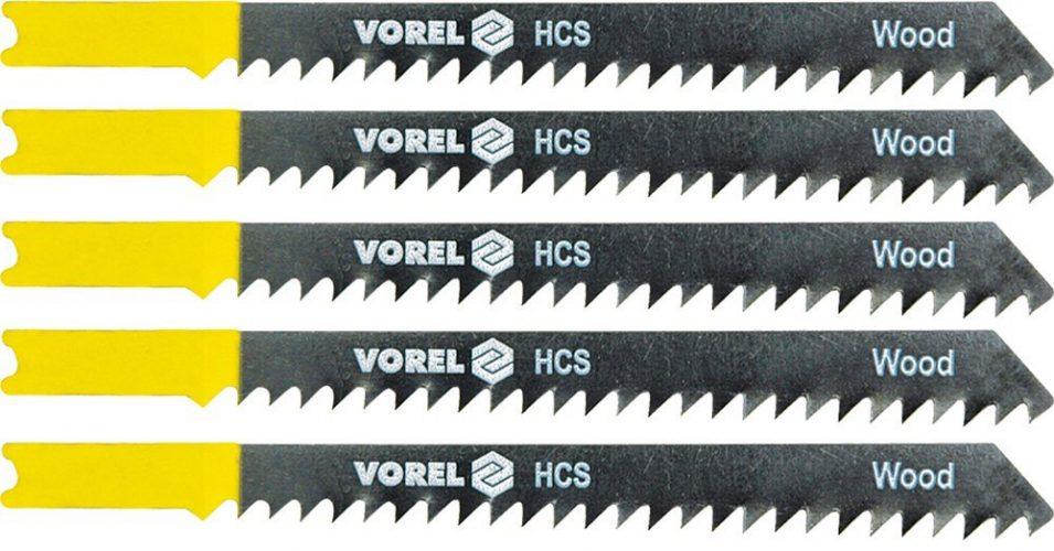 List do přímočaré pily 100 mm na dřevo a plast TPI6 5 ks