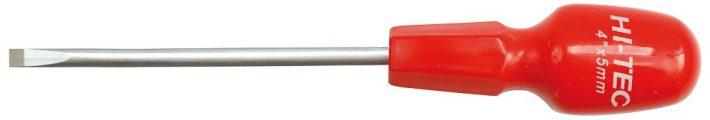Šroubovák plochý 5 x 100 mm CrV HI-TEC