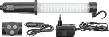 Lampa montážní LED 60+17 AKU nabíjecí