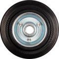 Kolečko gumové černé 100kg  125/33mm prům.15x40mm