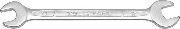 Klíč plochý 10x13 mm CrV6140