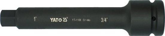 """Nástavec adaptér 1"""" - 3/4"""" rázový 250 mm CrMo"""