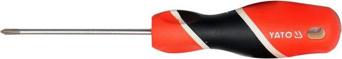 Šroubovák křížový PH0 x 75 mm magnetický S2