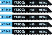 List pilový do přímočaré pily 70 mm na kov TPI12 5 ks