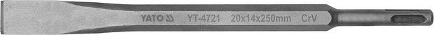Sekáč SDS+ plochý 20 x 14 x 250 mm CrV