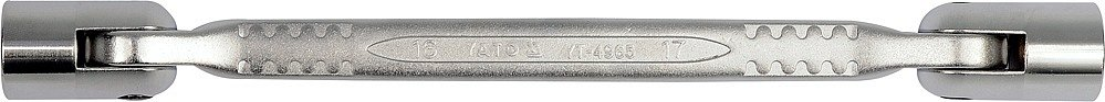Nástrčné klíče kloubové 16x17