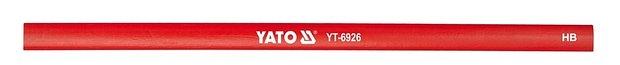 Tužka tesařská 245 mm červená 144ks