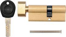 Vložka zámku s knoflíkem 72 x 31 x 41 mm mosaz 8 klíčů