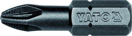 """Bit křížový 1/4"""" PZ2 x 25 mm 50 ks"""