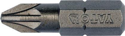 """Bit křížový 1/4"""" PZ2x 25 mm 10 ks S2"""